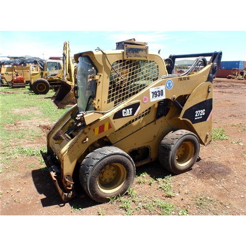 2008 CATERPILLAR 272C RED00790