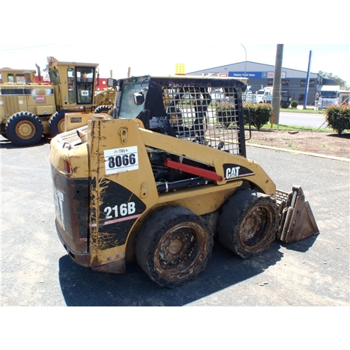 2007 CATERPILLAR 216B RLL05039